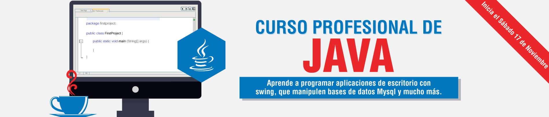 Curso Profesional de Java