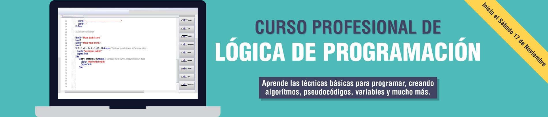 Curso Profesional de Lógica de Programación