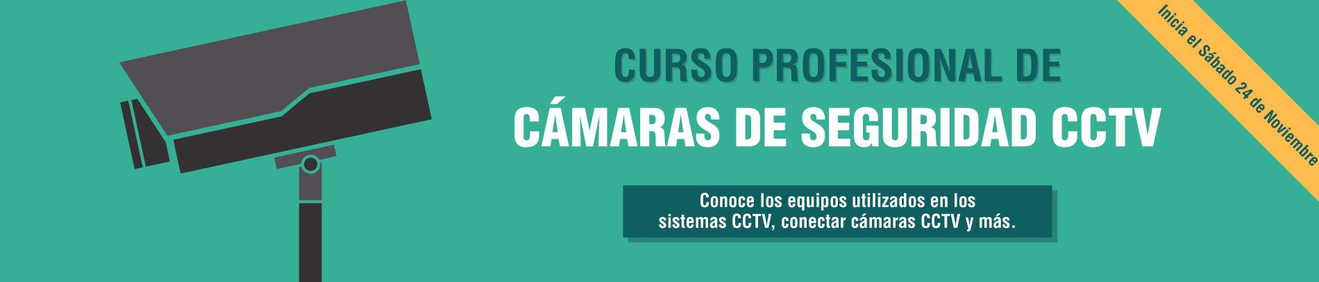 Curso de Cámaras de Seguridad CCTV