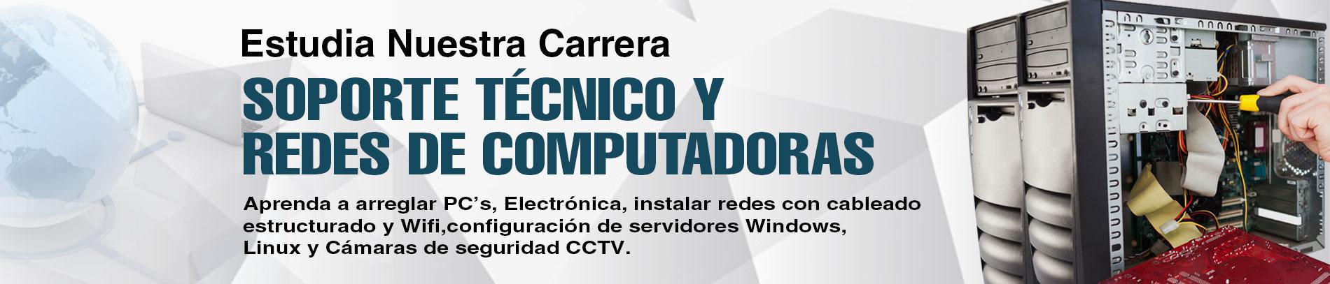 Soporte Técnico y Redes de Computadoras